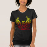 Phoenix Rising from the Flames T Shirt