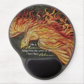 Phoenix Rising Gel Mouse Pad