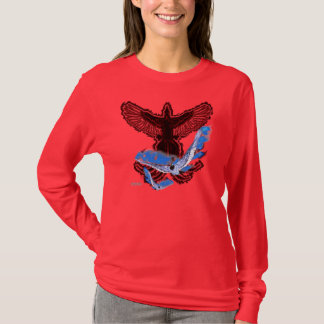 Phoenix Rising II Ladies Long Sleeve Shirt