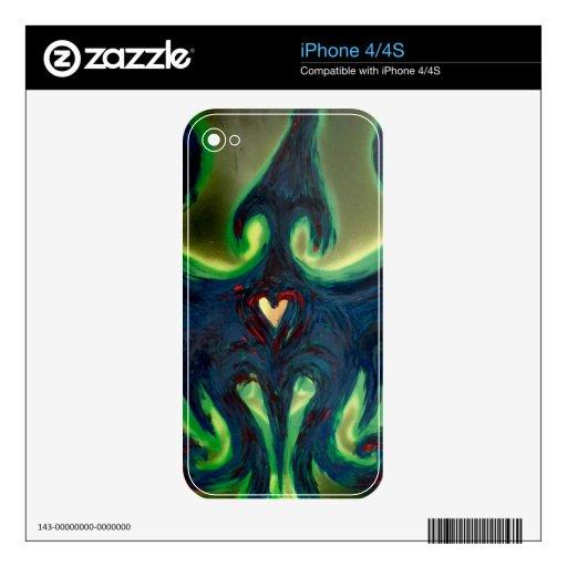 Phoenix Rising iPhone 4/4S skin iPhone 4S Decals