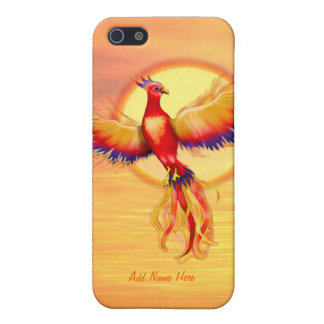 Phoenix Rising iPhone SE/5/5s Cover