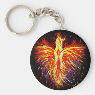 Phoenix Rising Key Chain