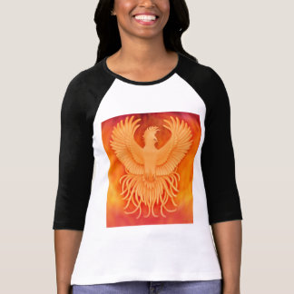 Phoenix Rising Ladies Raglan T-Shirt