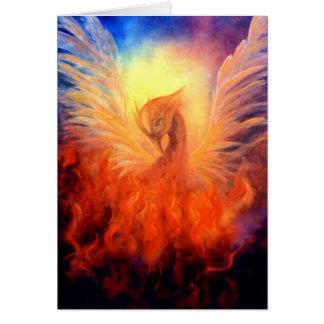 Phoenix Rising Notecard Greeting Card