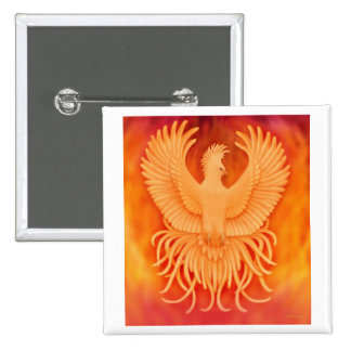 Phoenix Rising Pin