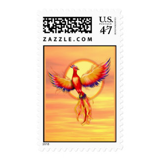 Phoenix Rising Postage