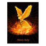 Phoenix Rising Postcards