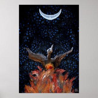 Phoenix Rising Print-Poster