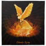 Phoenix Rising Printed Napkins