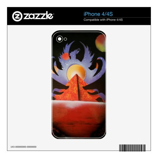 Phoenix Rising Skins For The iPhone 4