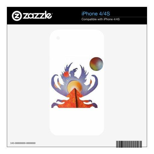 Phoenix Rising iPhone 4S Skin