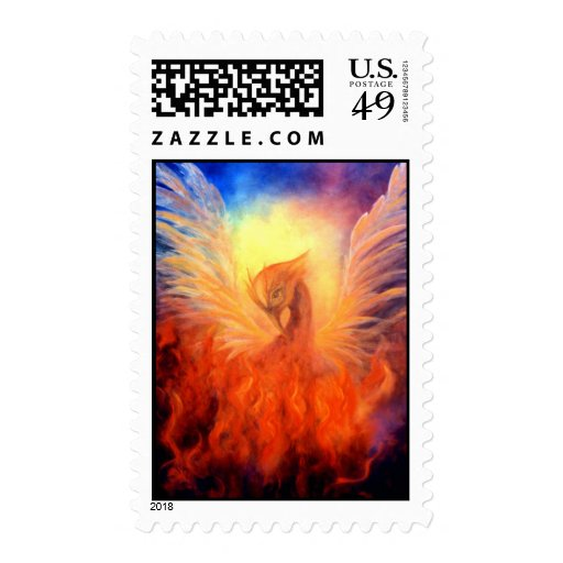Phoenix Rising Stamp