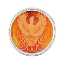 Phoenix Rising Survivors Lapel Pin