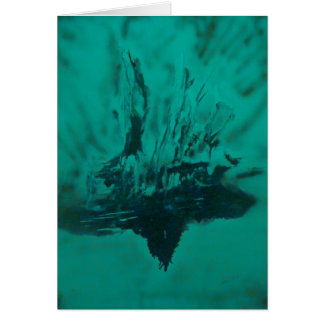 Phoenix Rising Under Water Greeting Card