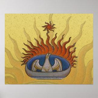 Phoenix Rising Vintage Firebird Posters