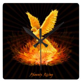 Phoenix Rising Wallclock