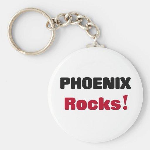 Phoenix Rocks Key Chain