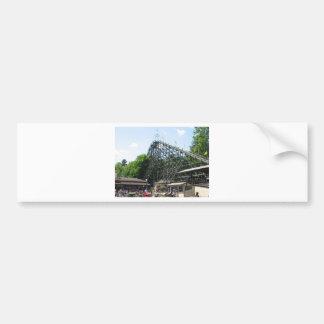 Phoenix Roller Coaster at Knoebels Bumper Sticker