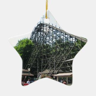 Phoenix Roller Coaster at Knoebels Ceramic Ornament