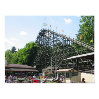 Phoenix Roller Coaster at Knoebels Postcard