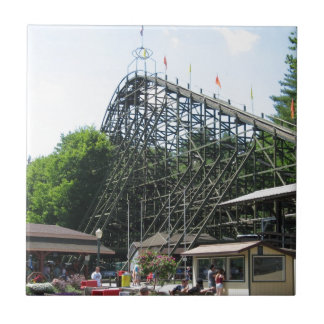 Phoenix Roller Coaster at Knoebels Small Square Tile