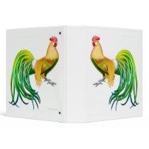 Phoenix Rooster Chicken Binder
