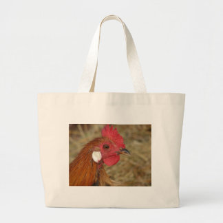Phoenix Rooster Large Tote Bag