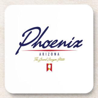 Phoenix Script Drink Coaster