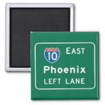 Phoenix, señal de tráfico de AZ Imán De Frigorifico