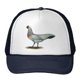 Phoenix:  Silver Duckwing Hen Trucker Hat