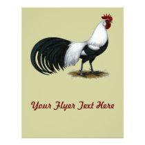 Phoenix:  Silver Duckwing Rooster Flyer