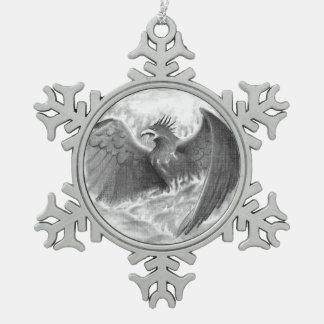 Phoenix Sketch Ornament