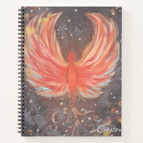 Phoenix Sketchbook Notebook