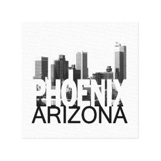 Phoenix Skyline Canvas Print