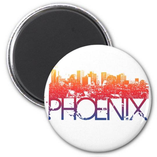 Phoenix Skyline Design Magnet