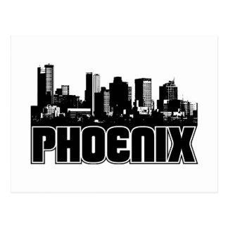 Phoenix Skyline Postcard