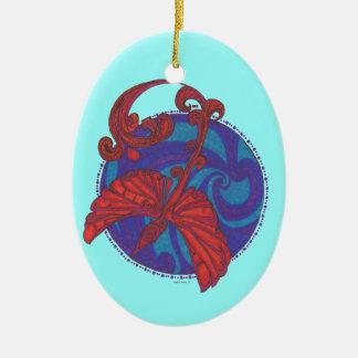 Phoenix sobre los ornamentos del agua ornamentos para reyes magos