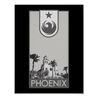 Phoenix - St. Mary's Basilica Poster