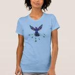 Phoenix Star Ladies Twofer Sheer Tee Shirt