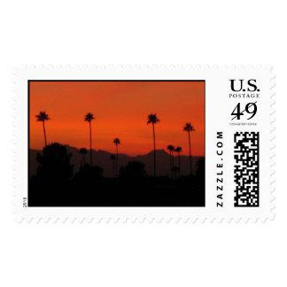 Phoenix sunset postage