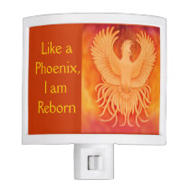 Phoenix Survivor Bird Night Light