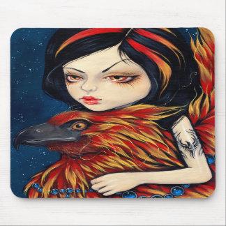 """Phoenix Tattoo"" Mousepad"