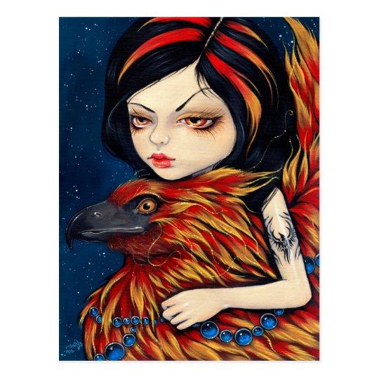 """""""Phoenix Tattoo"""" Postcard"""