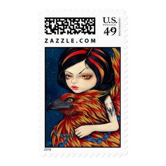 """""""Phoenix Tattoo"""" Stamp"""