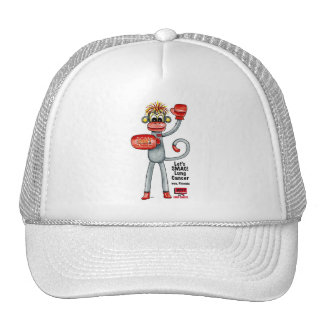 Phoenix the Lung Cancer SMAC! Monkey - Boxing! Trucker Hat