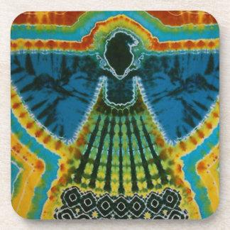 Phoenix Tie Dye Drink Coaster