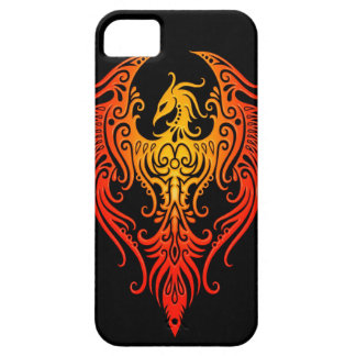 Phoenix tribal adornada iPhone 5 fundas