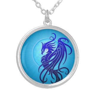 Phoenix tribal azul grimpolas