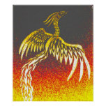 Phoenix tribal póster