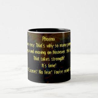 Phoenix Two-Tone Coffee Mug